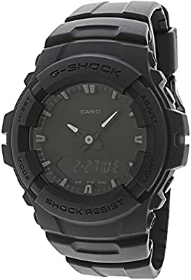 e7161c08211f Amazon.com  Casio G-Shock Men039 s Black Out Series Analog Digital Watch   Casio  Sports   Outdoors