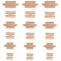 Tiny Conductors 18 Piece Wooden Train Tr...