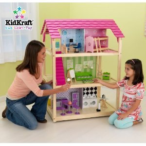 Kidkraft So Chic Dollhouse Amazonca Home Kitchen