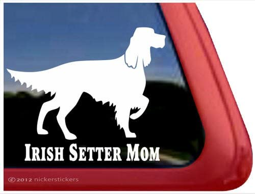 Vinyl Decal Sticker HIGH QUALITY Irish Setter Color