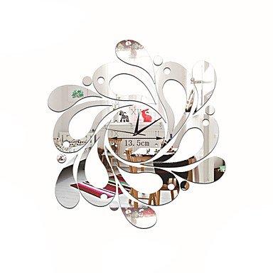 QUIETNESS @ acrilico DIY 3d Specchio di orologi da parete novità ...
