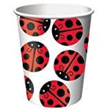 Ladybug Party Supplies 9oz. Hot/Cold Cups