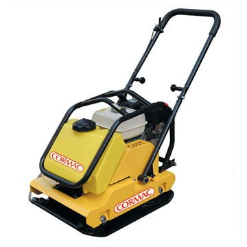 CORMAC-C95T-plate-compactor-gasoline-water-tank