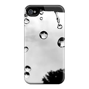 Iphone 4/4s Case Bumper Tpu Skin Cover For Rain Drops Hd Accessories