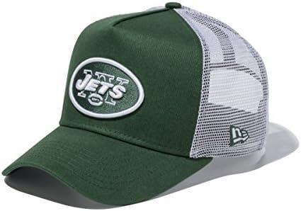 ニューエラ 9FORTY Dフレーム トラッカー 11434235 ニューヨーク・ジェッツ NFL チームカラー メッシュキャップ team color D-FRAME TRUCKER New York Jets