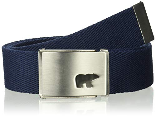 Jack Nicklaus Men's Web Belt, Classic Navy, One Size ()