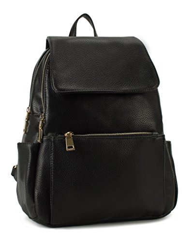 Scarleton Fashionable Chic Backpack Black