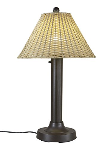 Patio Living Concepts 19257 Tahiti Outdoor Table Lamp with 3