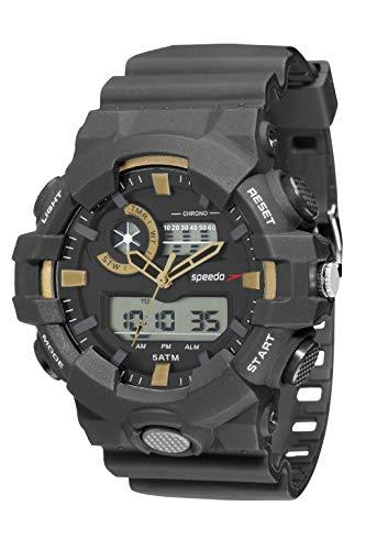 KIT Relógio Digital Speedo, 81156G0EVNP1K1, Masculino