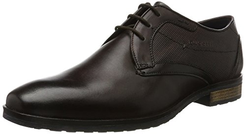 Bugatti Men 311374011100 Derbys, Brown Brown (Dark Brown 6100)