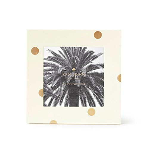 kate spade new york Lacquer Picture Frame Gold Dot