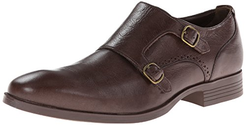 Cole Haan Men's Copley Double Monk Oxford,Chestnut,11 M - Shops Copley At