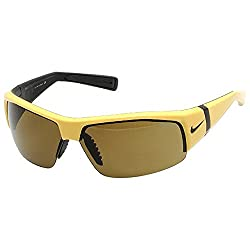 Nike Varsity EV0560-703 Maize Yellow Rimless Sport Sunglasses