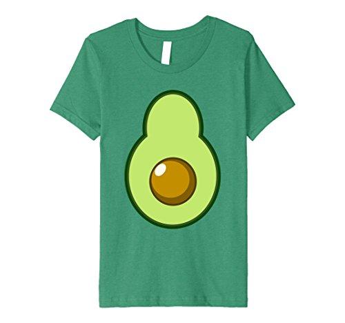 Kids Avocado Costume Halloween Funny Idea DIY T-Shirt 10 Kelly (Funny Homemade Halloween Costumes Ideas For Adults)