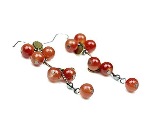 Wholesale Retro Jordans (JD Million shop New Ms. Fashion Jewelry Wholesale European And American Retro Sweet Cherry Stud Earrings For Women E-21)
