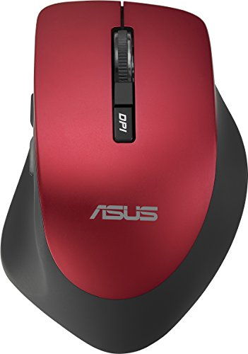 Asus Wireless Mouse Red WT425, 90XB0280-BMU030