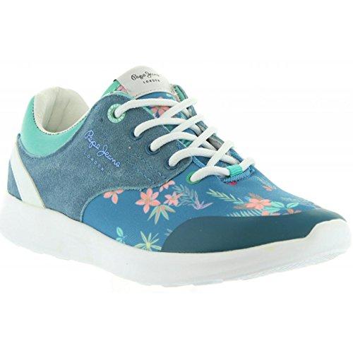548 Per Print Pepe Bambina Pgs30292 E Donna Amanda Sport Scarpe Jeans Blue qttwgza