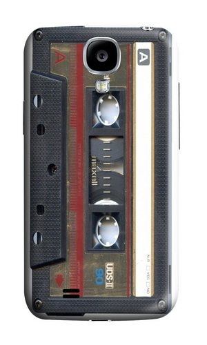 LYNNART Samsung Galaxy S4 I9500 Maxell Gold Mix Cassette Tapetheme Phone Hard Case For Samsung Galaxy S4 I9500