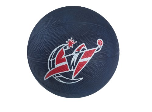 Spalding NBA Washington Wizards Mini Rubber Basketball