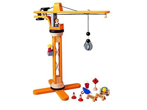 Plan Toys - Coffret Grue - Bois - PT6086