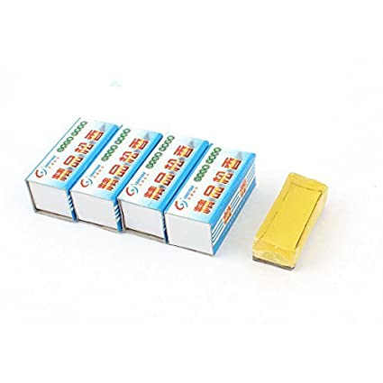 eDealMax 5 piezas de soldar de la lata Pegar flujo de la resina de 50mm x