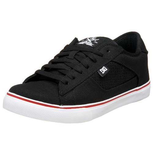 Dc Mens True S Tx Sneaker Nero / Bianco