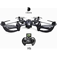 Leewa@ iDrone Racing Drone HD Camera I4S & Auto return 2.4Ghz 4CH 6-Axis 2.0MP RC Quadcopter -Black