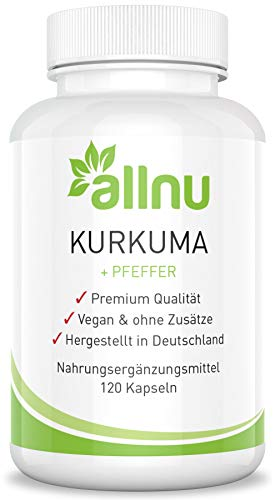 Kurkuma Kapseln hochdosiert Vegan - ohne Zusätze