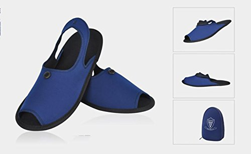 Business When Carry In Portable Trip Travelling Unisex Easy Trip Black To Folding Enjoying 38Following 2 A Blue 1 Business Sandals Slippers wqqOaXnzv