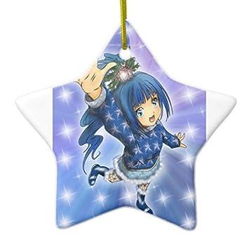 Amazon.de: Neuheit Weihnachten Baum Decor Anime Girl Urlaub Hi ...