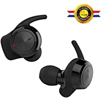 True Wireless Earbuds Bluetooth Headphone US-001, Sport Headset In-Ear Noise Cancelling Earphone with Bluetooth 4.2 and Stereo Surround Sound from XIAOWU for