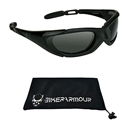 Ultra Snug Fit Best Deal! Motorcycle Sunglasses Mens Large Fit 3 pairs combo