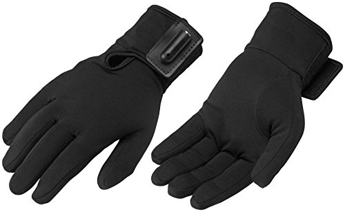 Firstgear Street Bike - FirstGear Liner Men's Warm and Safe Heated Street Bike Racing Motorcycle Gloves - Black / X-Small