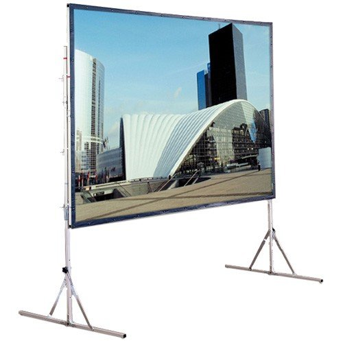 (Cinefold Matte White Portable Projection Screen Viewing Area: 200