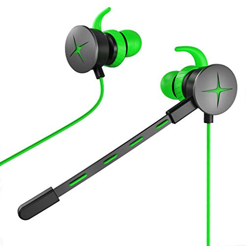 Aulley V7 3.5mm Jack Gaming Headsets in-Ear Wired Adjustable Mic Earphones Dynamic Gamer Phone PC Laptop Headphone