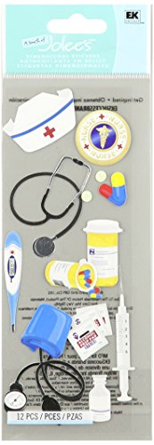 Jolee's Boutique 50-10026 Sticker 3D Nurse Accessories, Multicolor]()
