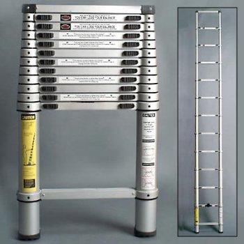 xtend u0026 climb 770 aluminum telescoping ladder type ii with aluminum coupling 1212foot xtend and climb amazoncom