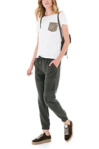 SALSA Camiseta Regular con bolsillo perla