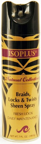 Isoplus Natural Collection Braid/Lock Sheen 7 oz. Isoplus Natural Collection Braid