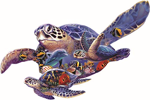 (Swimming Lesson a 1000-Piece Jigsaw Puzzle by Sunsout Inc.)