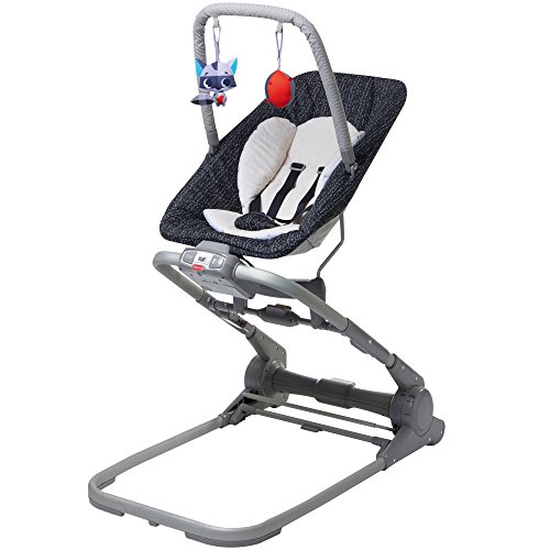 Tiny Love 3 in 1 Close to Me Bouncer, Luxe, Black, One Size