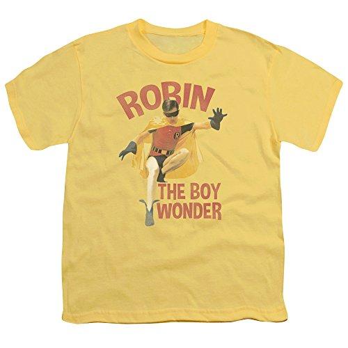 Batman Classic Tv Boy Wonder Big Boys Shirt Banana SM ()