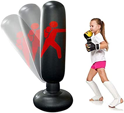 Wolfsport Fitness Punching Bag Heavy Punching Bag Inflatable Punching Style 1
