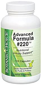 Botanic Choice Advanced Formula 220, 120 Count