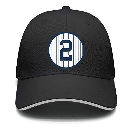 b16254d087d All Star New York Baseball Jeter2 Black One Size Women s Men s Cap ...
