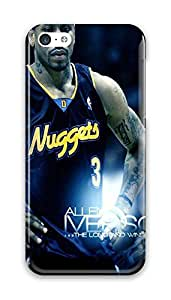 FUNKthing NBA Denver Nuggets Neoprene PC Hard new phone case iphone 5c