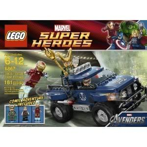 Toy / Game Fantastic Lego Loki's Cosmic Cube Escape 6867 - Off-Roader With 2 Flick Missiles & Tipping Function - Lokis Cosmic Cube