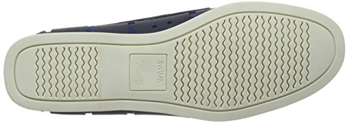 SWIMS Men's Boat Loafers, Navy/White, 7 D(M) US by SWIMS (Image #3)