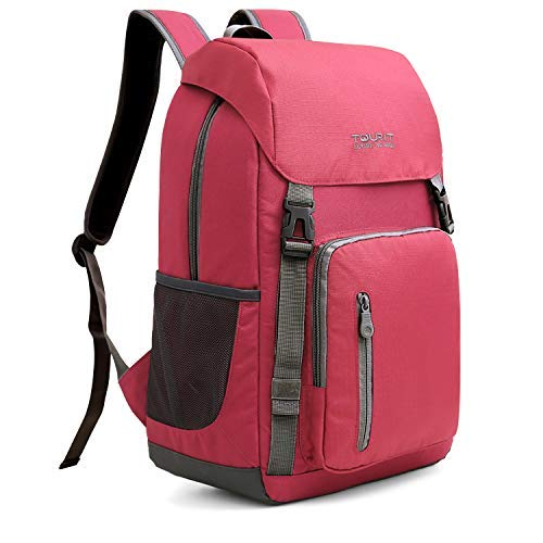TOURIT Insulated Cooler Backpack Bag Picnic Back Packs Cooler Stylish Lightweight Backpack with Cooler Large Capacity for Men Women to Hiking, Travel, Camping (To Have A Chip On Your Shoulder)