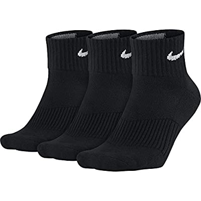 NIKE Performance Cushion Quarter Training Socks (3 Pairs)